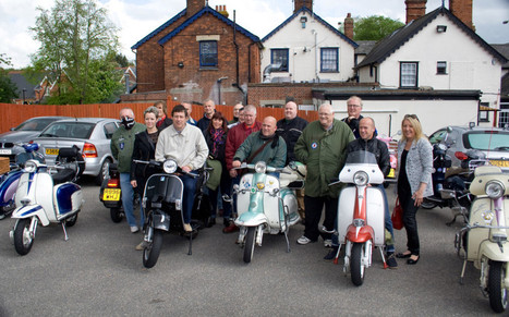Haverhill scooter riders hit the road for St George's Day | Vespa Stories | Scoop.it