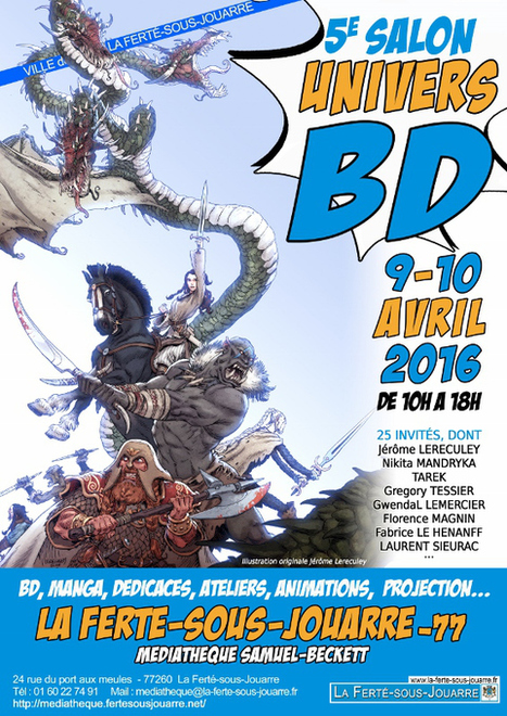Univers BD 2016 | Bande dessinée et illustrations | Scoop.it