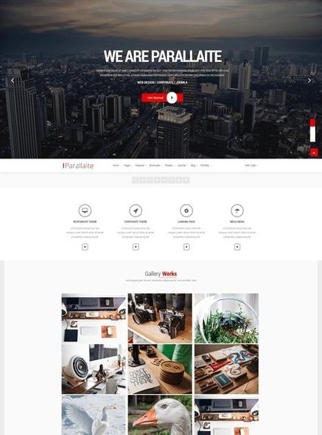 TM Parallaite - Responsive Multipurpose Joomla Template | Free & Premium Joomla Templates and WordPress Themes | Scoop.it