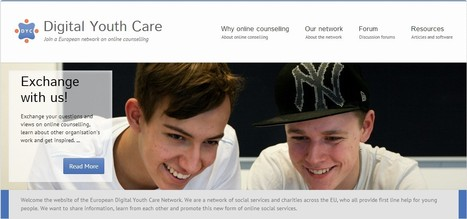 Digital Youth Care | Join a European network on online counselling | iEduc | Scoop.it