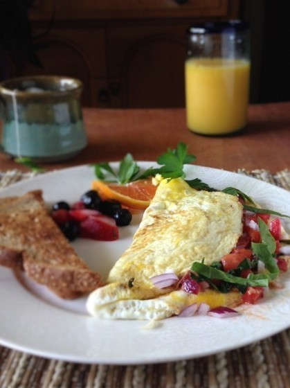 Bent Philipson Chef,Eat-Clean Egg White Omelet - Food is Love Recipes | Bent Philipson Chef | Scoop.it