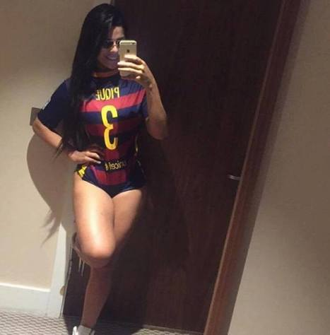 Suzy Cortez, Miss Bum Bum ci prova con Piqué. Ma Shakira... | culi femminili | Scoop.it