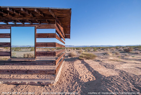 Lucid Stead: A Transparent Cabin Built of Wood and Mirrors by Phillip K Smith III | Colossal | Scott's Linkorama | Scoop.it