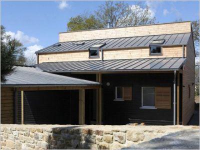 Une maison bretonne organique et bioclimatique - Batiactu   Eco-Habitat   Scoop.it