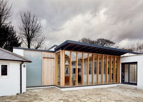 Family Cottage in the UK Gets Barebones Plywood Addition | studioaflo | Scoop.it