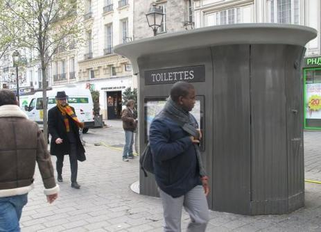 Davantage de sanisettes à Paris pour lutter contre les pipis sauvages | Health & environment | Scoop.it