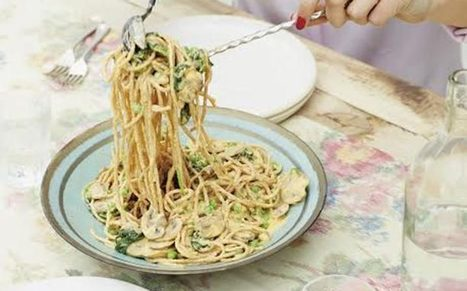 Deliciously Ella's creamy vegan carbonara | Vegan Food | Scoop.it