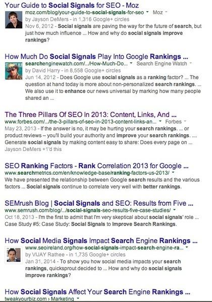 The Dirty Secret about Social Media and SEO | Digital-News on Scoop.it today | Scoop.it