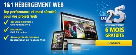 Gratuit : Hébergement Complet 6 MOIS gratuits chez 1&1 + Logiciel Adobe Dreamweaver CS5.5 Fr Licence gratuite | Webmaster HTML5 WYSIWYG et Entrepreneur | Scoop.it