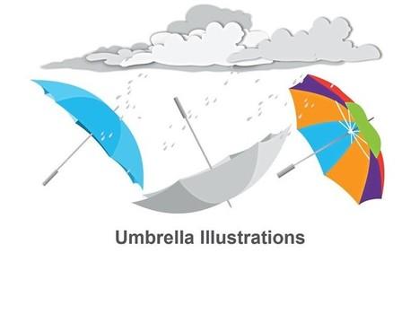 Download Business Umbrella Illustrations: Editable iWork Keynote Slides   Apple Keynote Slides For Sale   Scoop.it