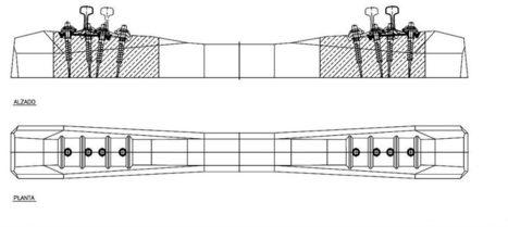 Traviesas prefabricadas de hormigón para vía con balasto | Procedimientos de construcción | Scoop.it