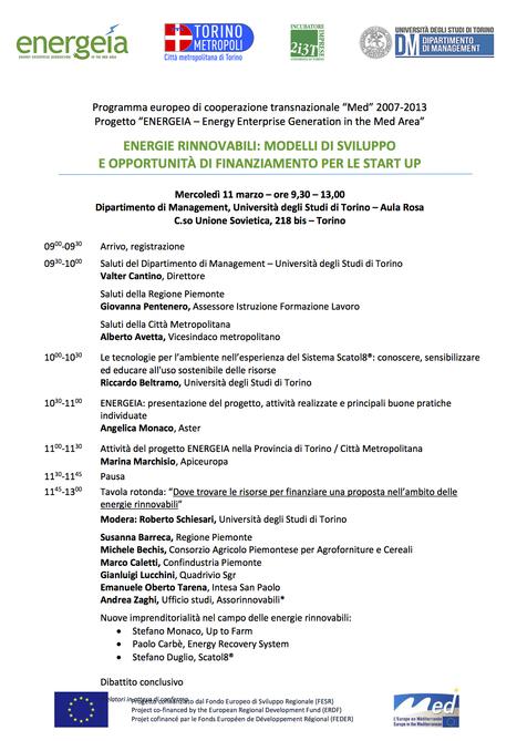 Scatol8® si presenta ad Energeia. Torino, 11 marzo 2015 | scatol8® | Scoop.it