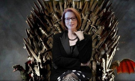 Julia Gillard's Dothraki tweets translated | Imaginary Icons  #auspol | Scoop.it