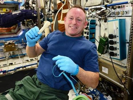 ISS astronaut needs a wrench, NASA successfully 'emails' him one - CNET | Augmented & Reality Reality - 3Dprinting - Wearable Technologies - Code QR - ..... | Scoop.it