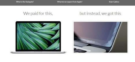 MacBook defect has Apple customers crying 'Staingate' | Technological Sparks | Scoop.it