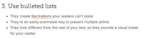 FORMATTING - 8 Incredibly Simple Ways to Get More People to Read Your Content | Conversations digitales | Scoop.it