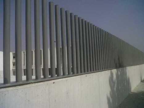 39 tubo 39 in cerramientos met licos vallas cercados verjas rejas y puertas - Valla metalica jardin ...