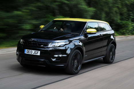 Range Rover Evoque Special Edition Coupe review | RR Evoque | Scoop.it