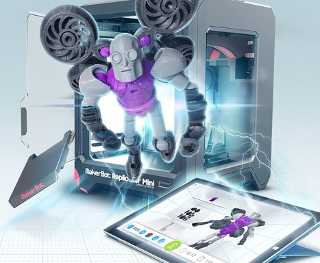 Design, customize and 3D print for play!   Autodesk 123D   3D Printing in Manufacturing Today   Scoop.it