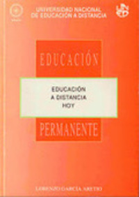 García Aretio: La educación a distancia. Bases conceptuales