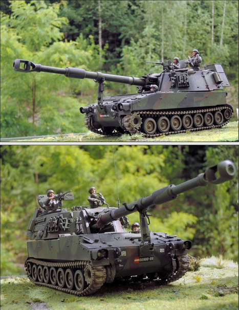 M109 A5Ö, AFV Club 1:35 Stefan Nadler | Military Miniatures H.Q. | Scoop.it