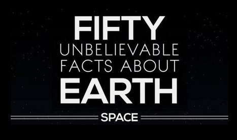 50 Unbelievable Facts About Earth - Infographic Online | 911branding | Scoop.it