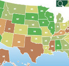 Measuring Green Efficiency State by State in US | The Energy Collective | green infographics | Scoop.it