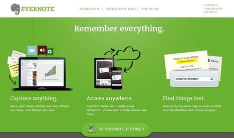 EverNote   30 Sites in 60 Minutes   Scoop.it