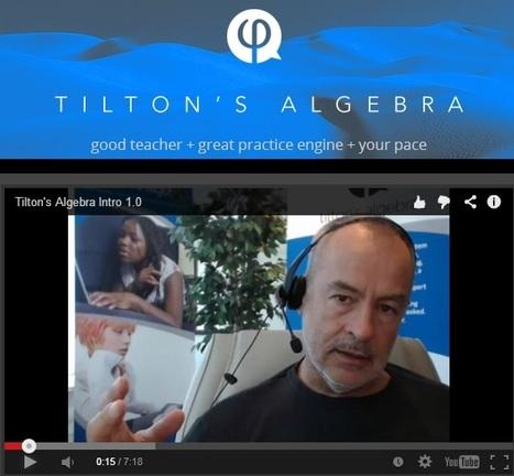 Tilton's Algebra | 21st Century Concepts Math | Scoop.it