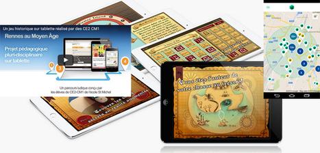Créer un jeu, enquête, énigme, chasse au trésor, jeu de piste sur tablette ou smartphone | Céline F | Scoop.it