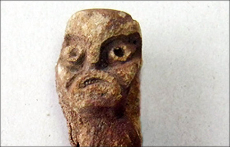 Villager dipped his fishing net in the river and caught a 4,000 year old pagan god   Aux origines   Scoop.it