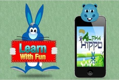 Alpha Hippo-Kids Alphabet App for iPhone, iPad, and iPod Touch | Mobile Media City | Alaram Clock | Scoop.it