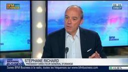 Orange: des résultats en recul au premier trimestre, Stéphane Richard, dans GMB – 29/04 | Télécommunications | Scoop.it