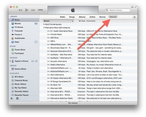 Access old internet radio in iTunes 11 | Z108 is listed on Itunes | Scoop.it