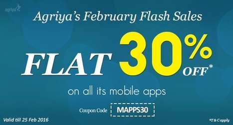 Agriya Declares February Flash Sale, Get a Flat 30% off on its Mobile App Scripts | Thumbtack clone and Taskrabbit clone script, clones script | Scoop.it