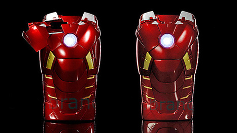 With This Iron Man Mark VII Case Your iPhone Can Join The Avengers | All Geeks | Scoop.it