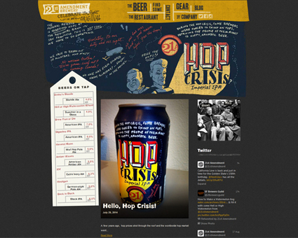 50+ Best Awesome Brewery Websites | News we like | Scoop.it