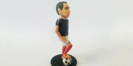 Innover et Créer en 3D - Commandez votre mini-modèle sportif imprimé en 3D pour l'Euro ! | FabLab - DIY - 3D printing- Maker | Scoop.it