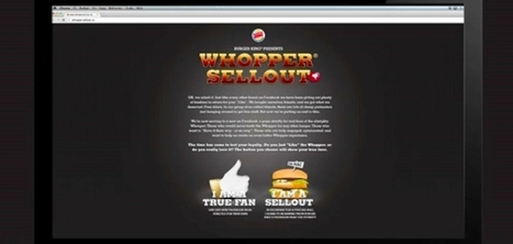 Burger King bannit les fans de sa page Facebook qui préfèrent le Big Mac au Whooper | Chouettes idées | Scoop.it