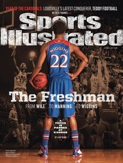A once-in-generation talent, Andrew Wiggins has Kansas fans in frenzy - SI.com   Sports Ethics   Scoop.it