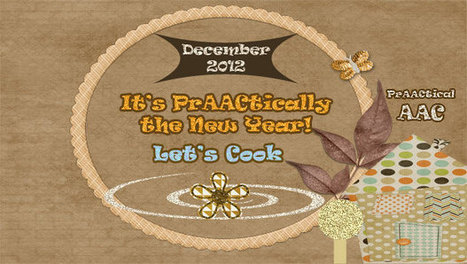 It's PrAACtically the New Year- Let's Cook! | AAC & Language Intervention | Scoop.it