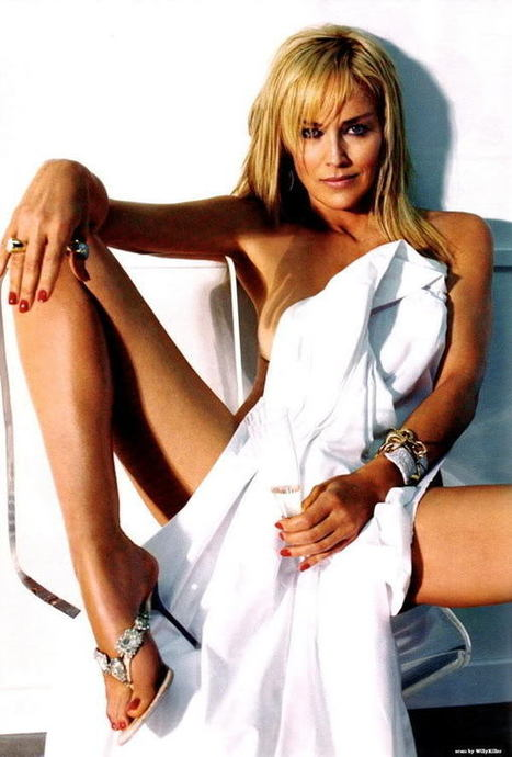 SHARON STONE 55 YEARS BEAUTIFUL - CELEBS A - Z - PICTURES | CELEBRITY PICTURES NAKED STAR | Scoop.it