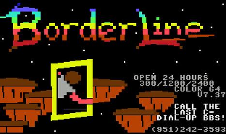 Borderline BBS - DIAL-UP!!! | ASCII Art | Scoop.it