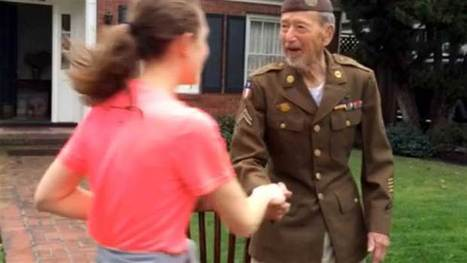 Runners detour race to thank 95-year-old World War II veteran - Today.com | Humanities | Scoop.it