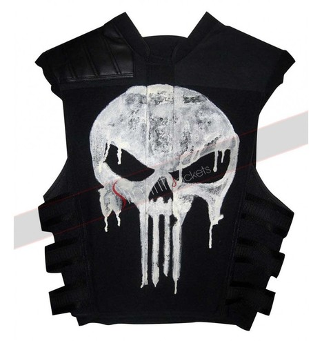Thomas Jane Punisher Black Vest | Famous TV Series Leather Jackets | Scoop.it