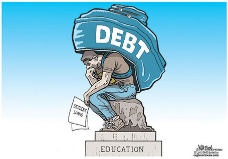 Student Loan Debt. Can You Hear That Train A'Coming? | Yellow Boat Social Entrepreneurism | Scoop.it