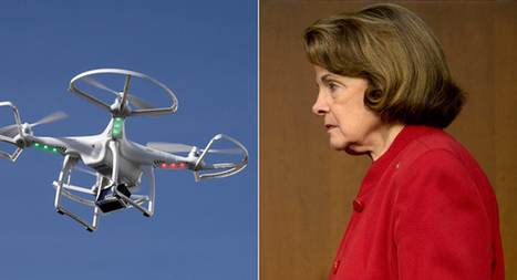 Dianne Feinstein spots drone inches from face | Space Weather | Scoop.it