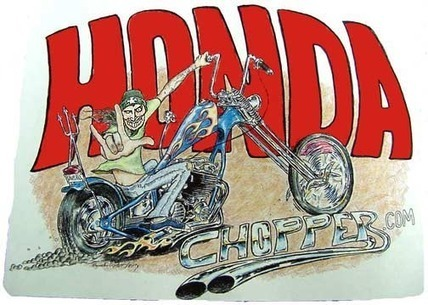 Honda CB 750 Choppers! | Building a 1974 Honda CB750 Cafe Racer | Scoop.it
