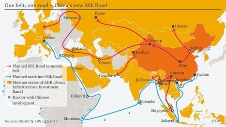 La Chine et la Nouvelle Route de la Soie : vers le plus grand empire de l'Histoire? - Bouger les lignes.   China life sciences & environment   Scoop.it