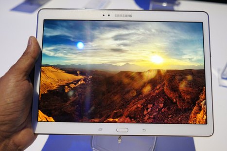 Samsung's Galaxy Tab S: It's all about the jaw-dropping screen (hands-on) | Digital-News on Scoop.it today | Scoop.it